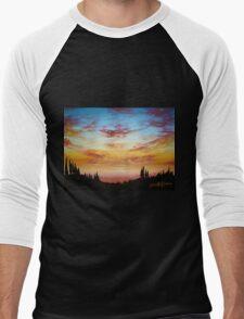 Sky Paradise Men's Baseball ¾ T-Shirt