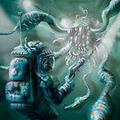 The Thing in the Passageway Version 2 by Matt Bissett-Johnson