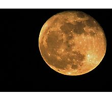 Blood on the Moon Photographic Print