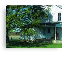Your Dream House in the Country Canvas Print