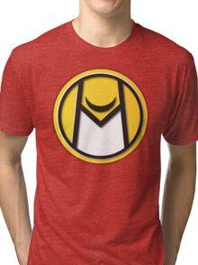 Moonhawk410 // LOGO YELLOW Tri-blend T-Shirt