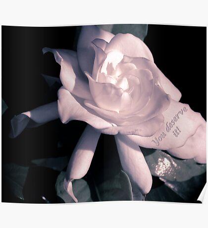 Romantic Flower Poster