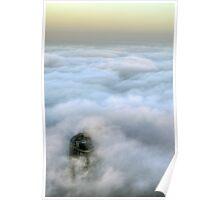Crown under fog II Poster