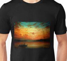 Sunset Sailing... Unisex T-Shirt