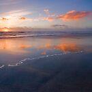 Low Tide Sunset by photosbyflood