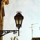 Lamp Post in Lecce by Rebecca Dru