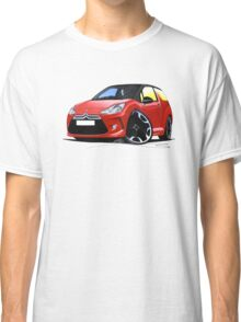 Citroen DS3 Red (Black) Classic T-Shirt