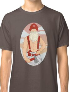 Santa Fireman Classic T-Shirt