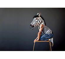 The Zebra Photographic Print
