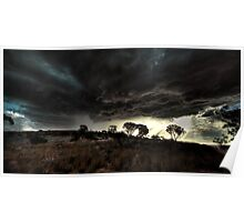 Stormy Skies over Eyre Peninsula Poster