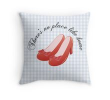 The Ruby Slippers Throw Pillow