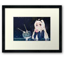 Shimakaze Presend Framed Print