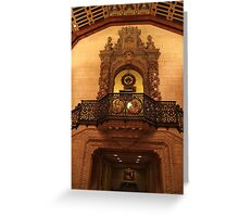 Biltmore Hotel, LA Greeting Card