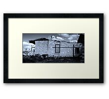 Claypan Post Office Framed Print