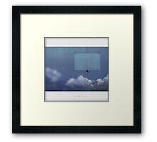 life as an eternal trip Framed Print