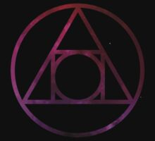 Alchemical Philosophers Stone Glyph, Space by SuperConnected