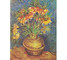 Crown Imperials in a Copper Vase by Vincent van Gogh Photographic Print
