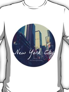 New York City Circular T-Shirt