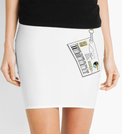 Special HQ Asteroid Detection Opperations Office Mini Skirt