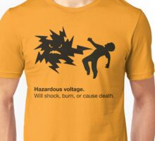Hazardous Voltage Unisex T-Shirt