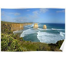 Twelve Apostles, Great Ocean Road, Vic, Australia Poster