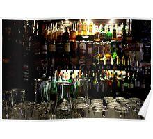 Dublin - The Temple Bar: Pint Glasses Poster