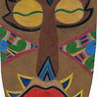African Mask by BAVVY
