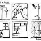 Ninja of Happiness by barry neeson