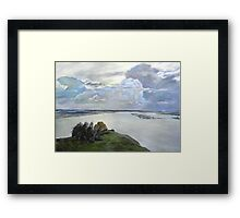 Above the Eternal Peace  Framed Print