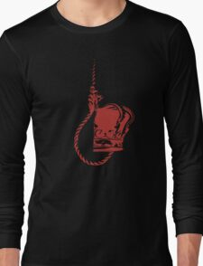 Noose and Crown Long Sleeve T-Shirt