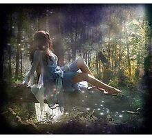 Spring Fairies  Photographic Print
