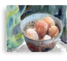 Eggs in a Bowl Canvas Print