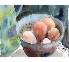 Eggs in a Bowl Photographic Print