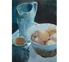 Eggs and Pots Photographic Print