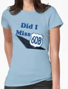 Did I Miss 60B? Womens Fitted T-Shirt