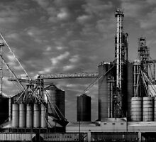 The Corn drier by Richard Fortier