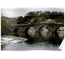 Graiguenamanagh - Bridge Over The Barrow River Poster