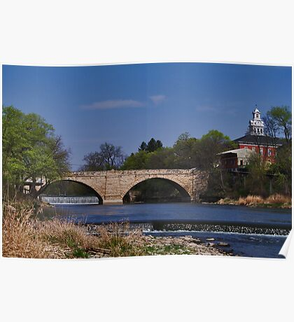 Keystone Bridge Poster