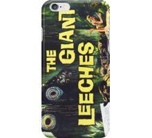 Giant Leeches iPhone Case/Skin