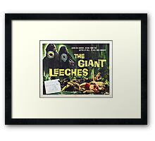 Giant Leeches Framed Print