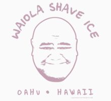 Hawaii 5-0 Waiola Shave Ice Logo (Pink) by Sharknose