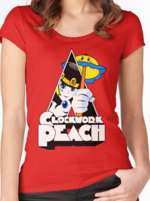 Clockwork Peach Women's Fitted Scoop T-Shirt