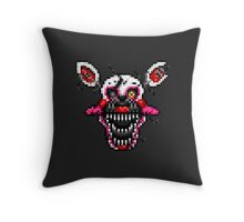 Five Nights at Freddy's 4 - Pixel art - Nightmare Mangle head Throw Pillow