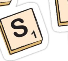 Weasley tiles Sticker