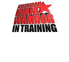 AMERICAN NINJA WARRIOR IN TRAINING Photographic Print