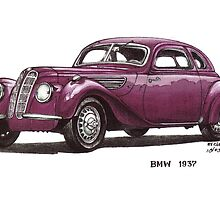 1937 BMW Car by mrclassic