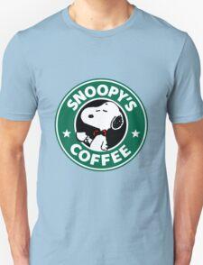 Snoopy Starbucks T-Shirt