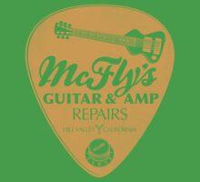 McFly's Repairs - Orange Kids Tee