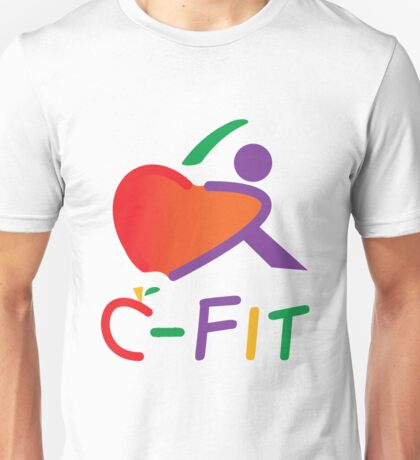 The Apple with C-Fit Text T-Shirt