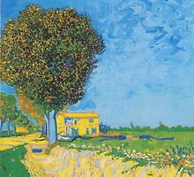 A Lane Near Arles by Vincent van Gogh by Robert Partridge